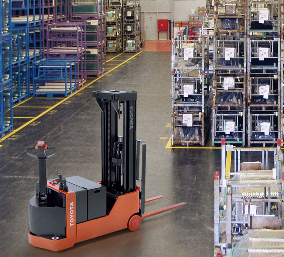 The Warehouse of the Future | Toyota Forklifts