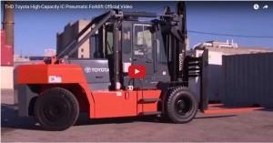 Toyota High-Capacity Foklift