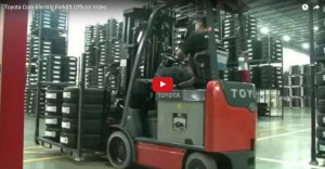 Toyota Core Electric Forklift Video