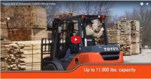Mid IC Pneumatic Forklift Video