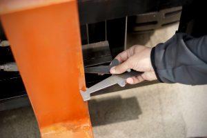 fork inspection caliper