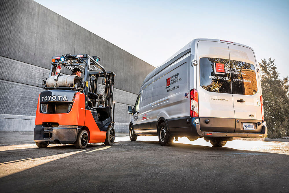 True Customer Focused Forklift Service With Toyota 360 Support