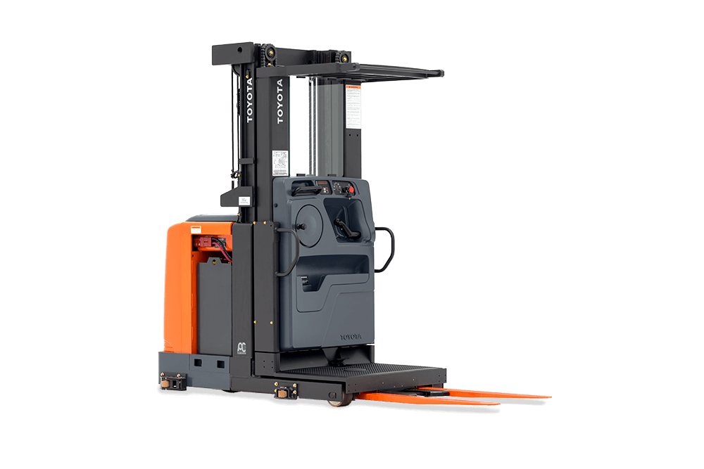 order pickers stock picking machines toyota forklift