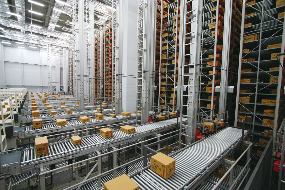 Automated Storage And Retrieval Systems Toyota Material