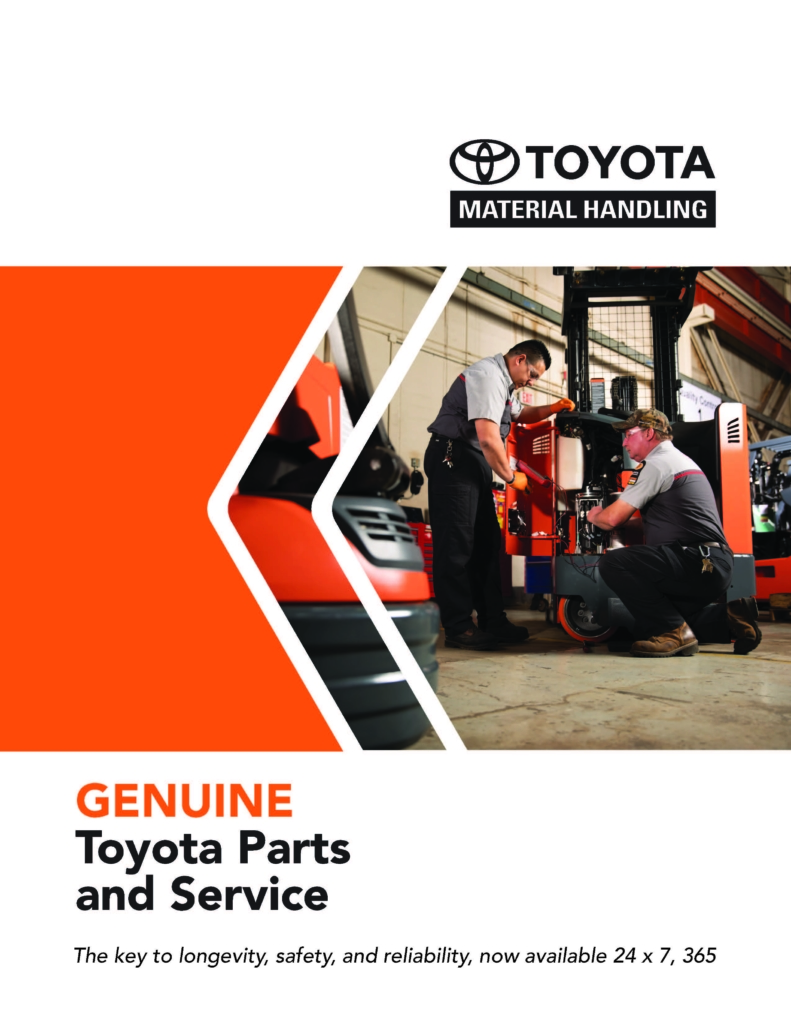 Genuine Toyota Parts and Service | Toyota Forklifts