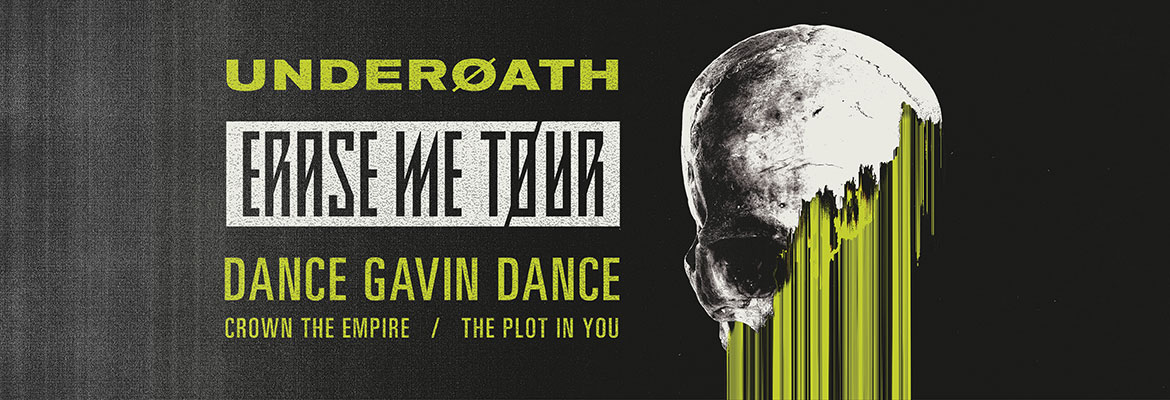 Underoath Erase Me Tour