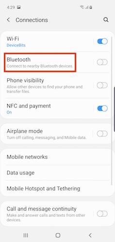 How do I connect to Bluetooth?