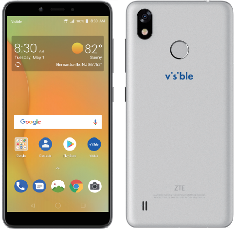 How do I get the User Guide for the ZTE Visible R2 (Z5151V