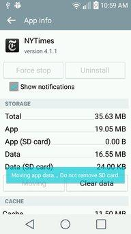 Move Applications to SD Card Tutorial
