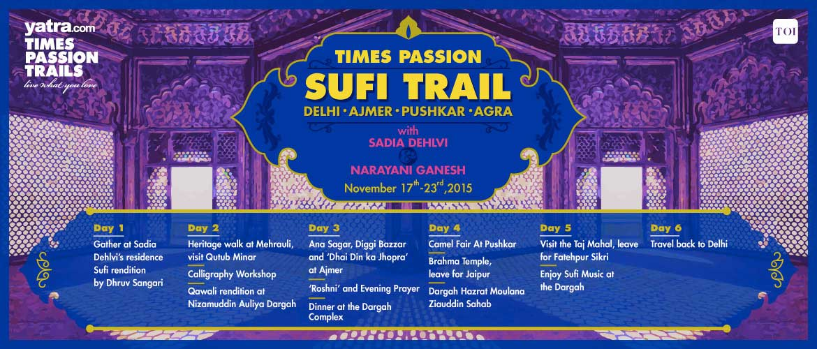 Sufi Trail from Delhi to Agra via Ajmer