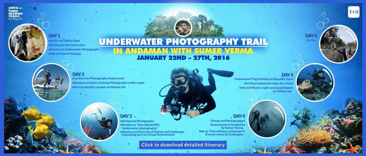 Underwater Photography in Andamans