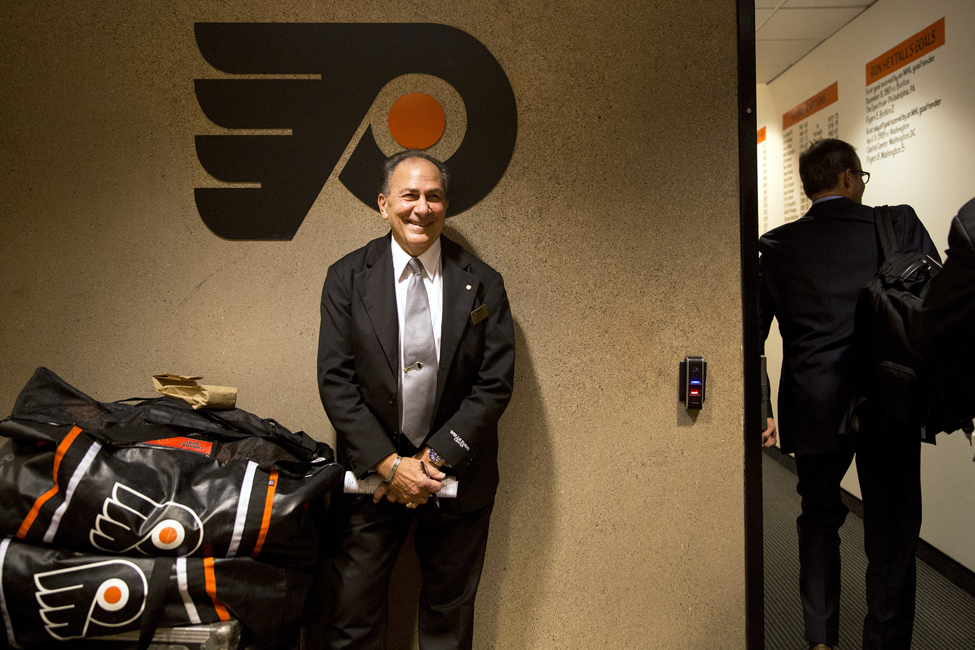 From Where I See It: Philadelphia Flyers . (Photo by Taylor Baucom/The Players' Tribune) *** Local Caption ***
