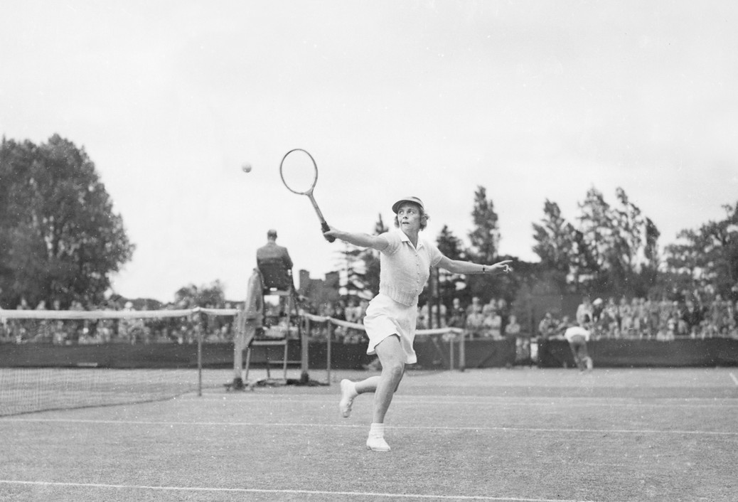 Alice Marble wins at Kent Championships - 14-June-1939