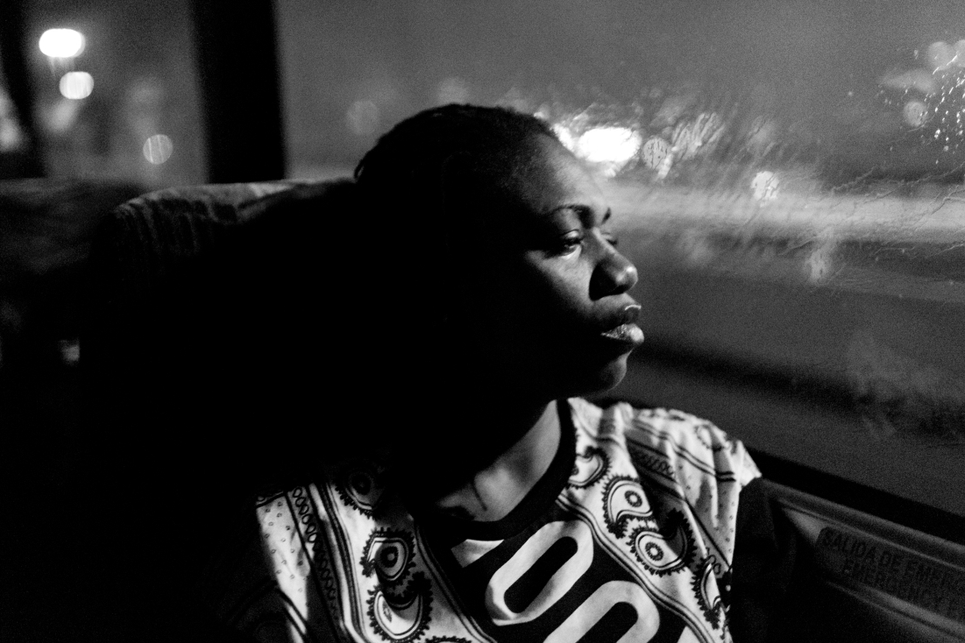 NY Liberty return to New York City after an away game in San Antonio, Texas. (Photo by Annie Flanagan/The Players Tribune)