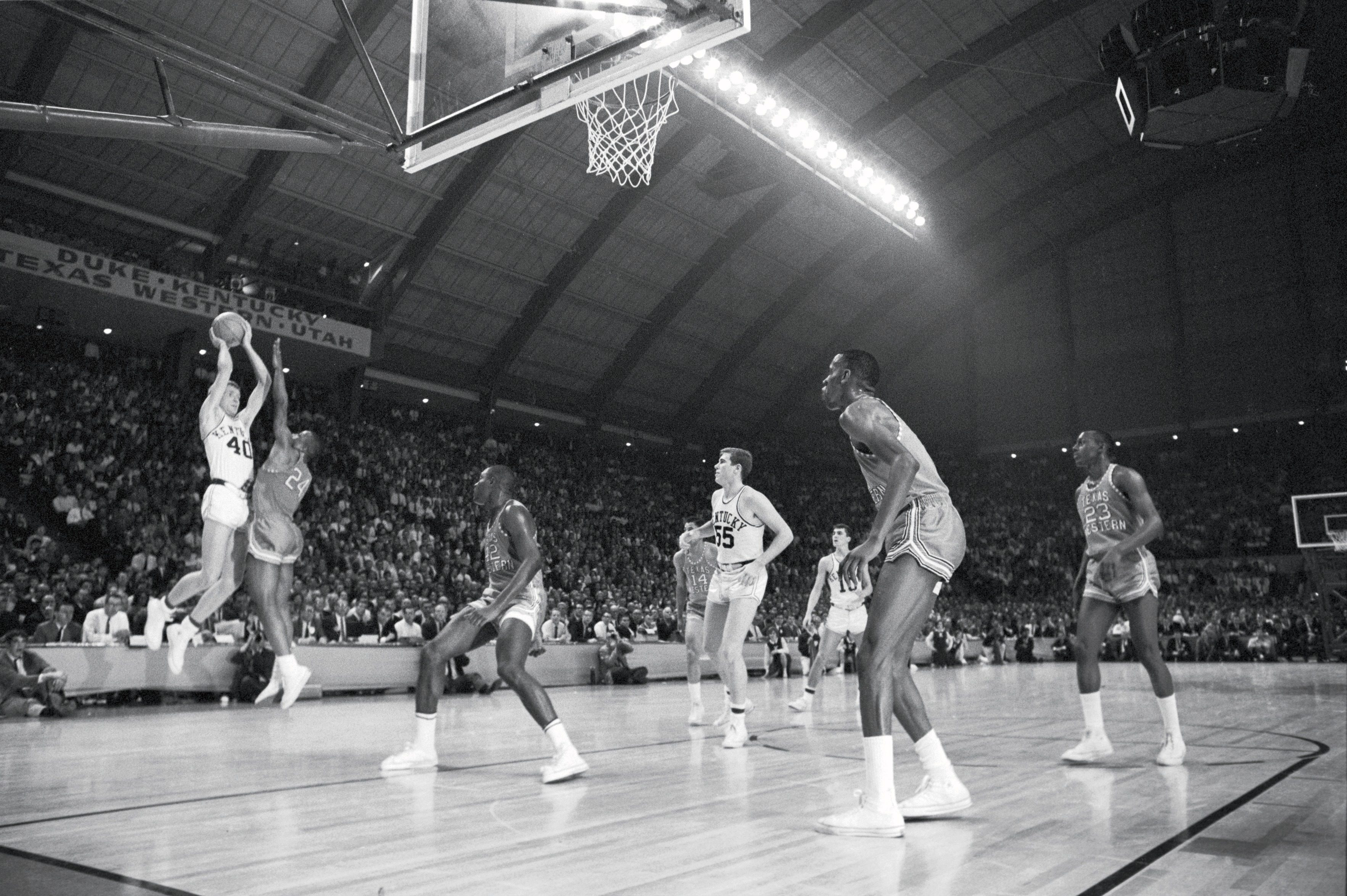 Kentucky Larry Conley, 1966 NCAA Finals