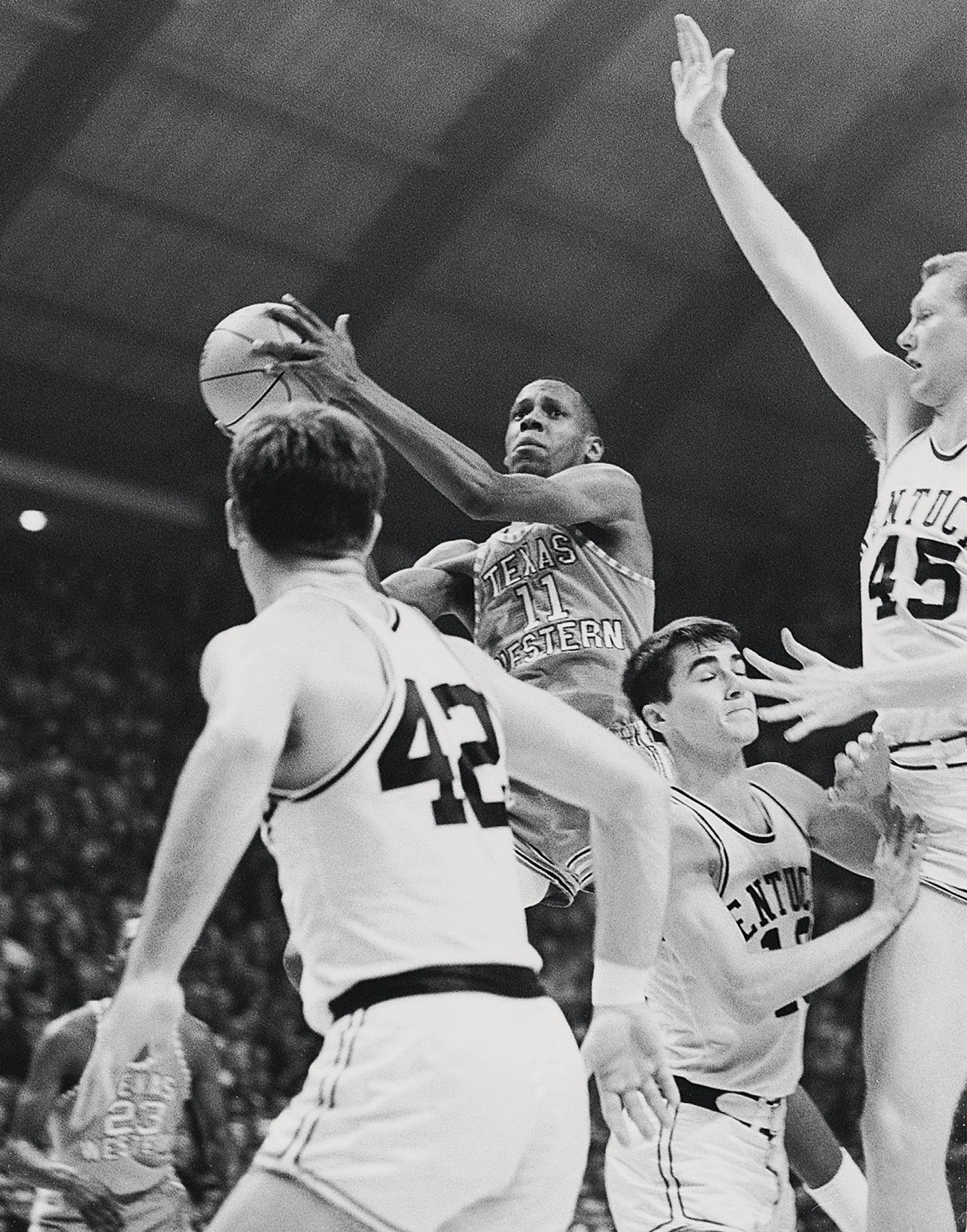 Texas Western Willie Cager, 1966 NCAA National Championship