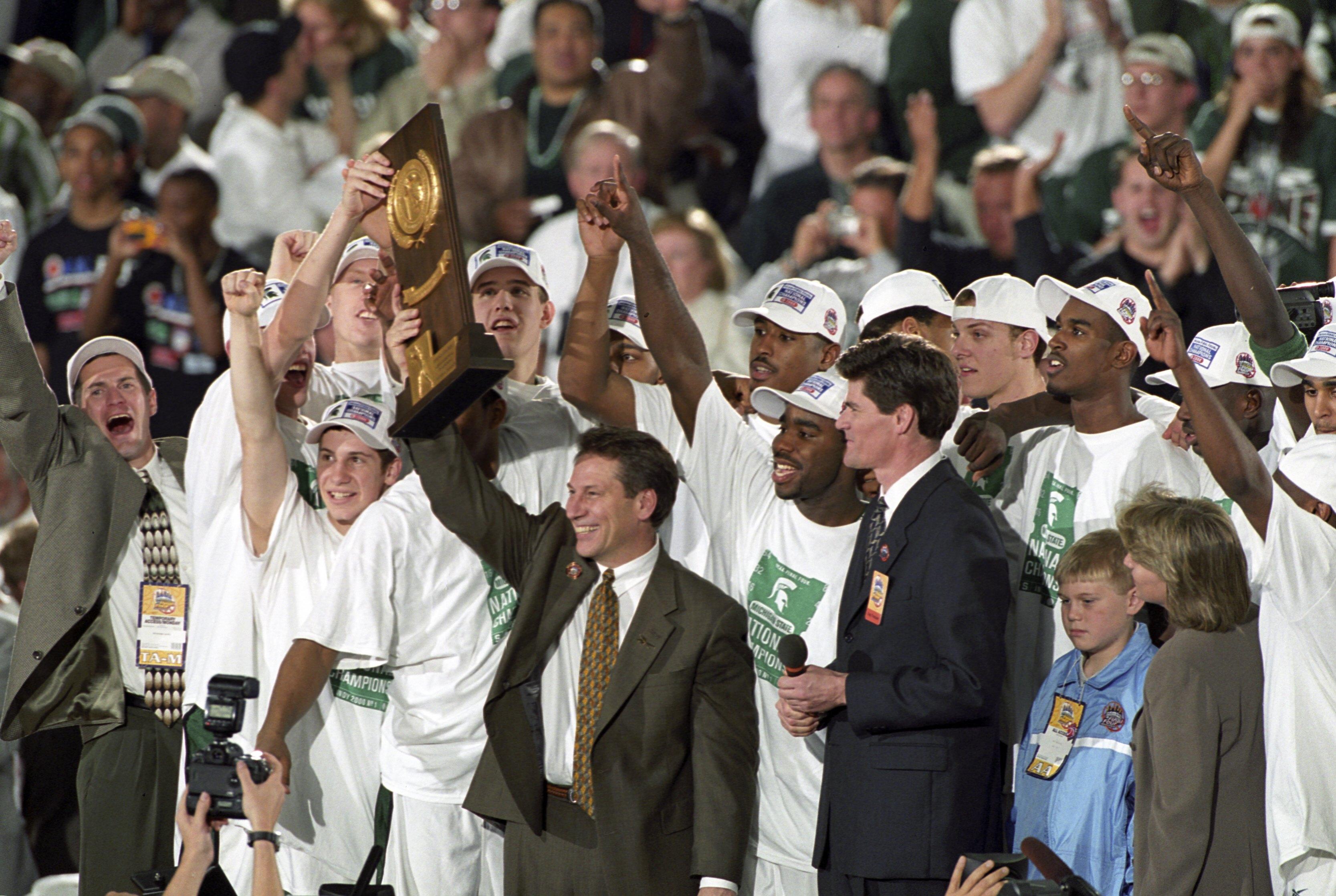 Michigan State University Coach Tom Izzo, 2000 NCAA National Championship