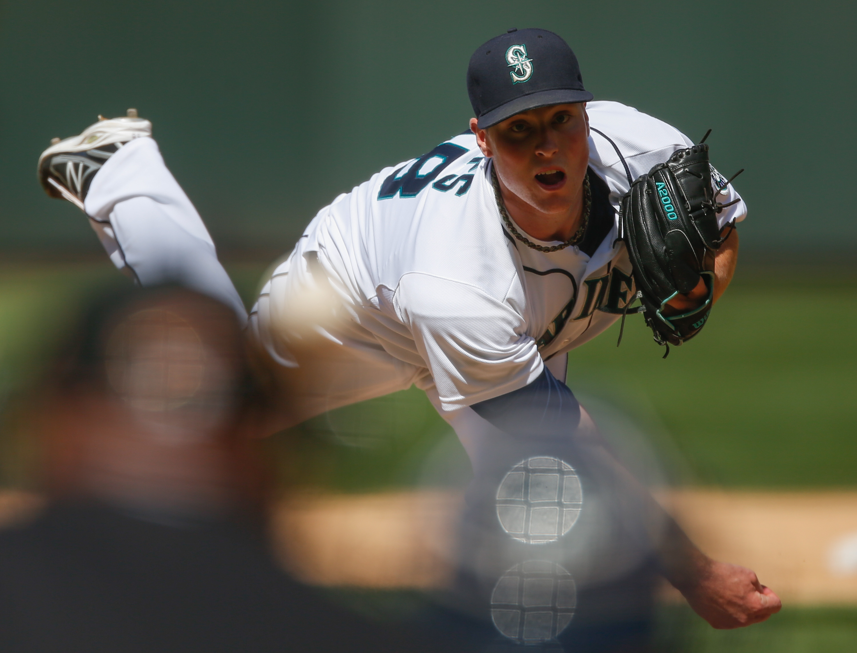 SEATTLE, WA - JUNE 08: Relief pitcher Carter Capps #58 of the Seattle Mariners pitches against the New York Yankees at Safeco Field on June 8, 2013 in Seattle, Washington. (Photo by Otto Greule Jr/Getty Images)