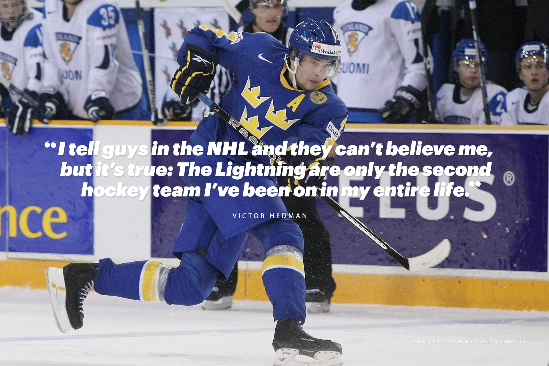 how we play hockey in sweden by victor hedman