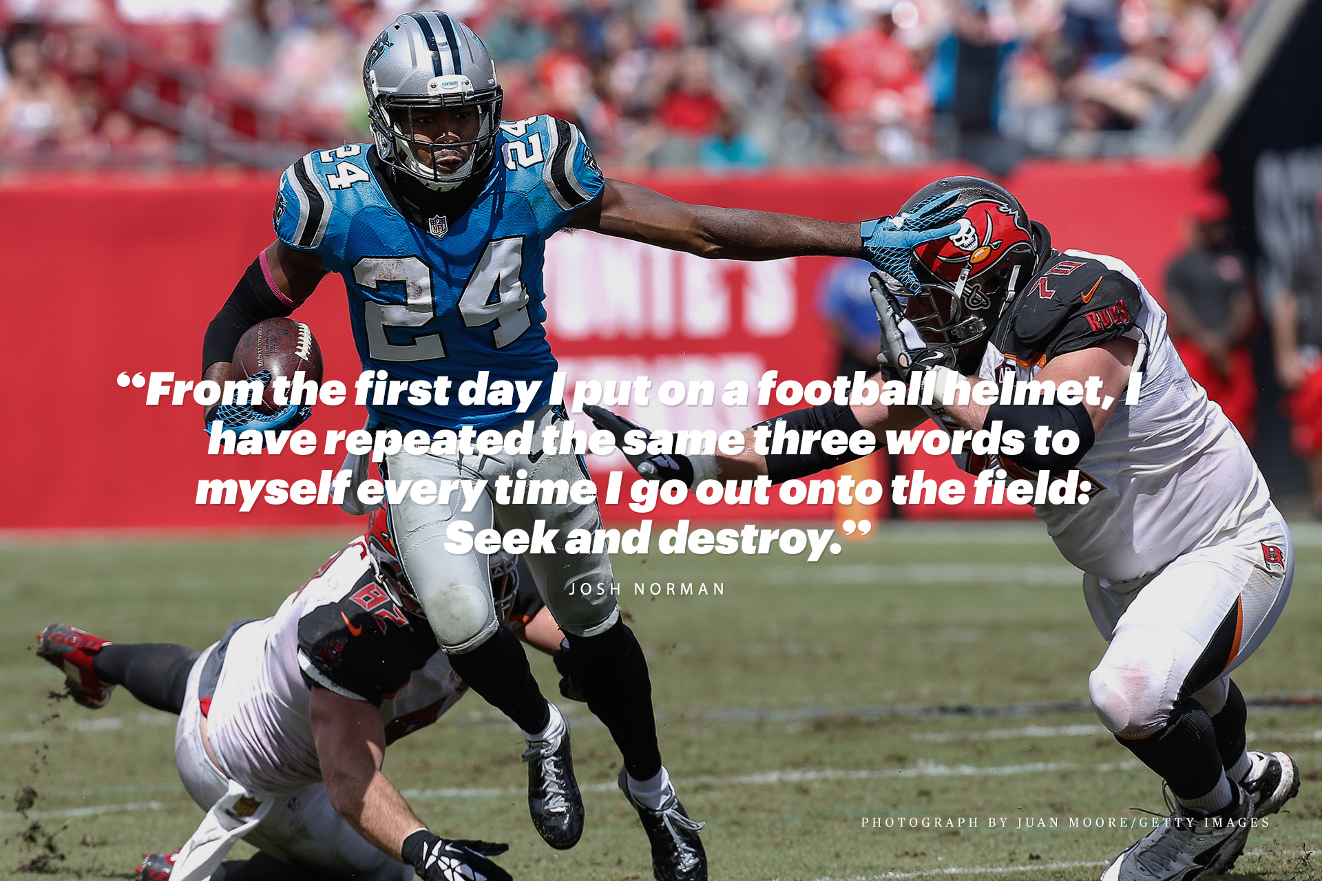 steal your bologna by josh norman norman destroy pull