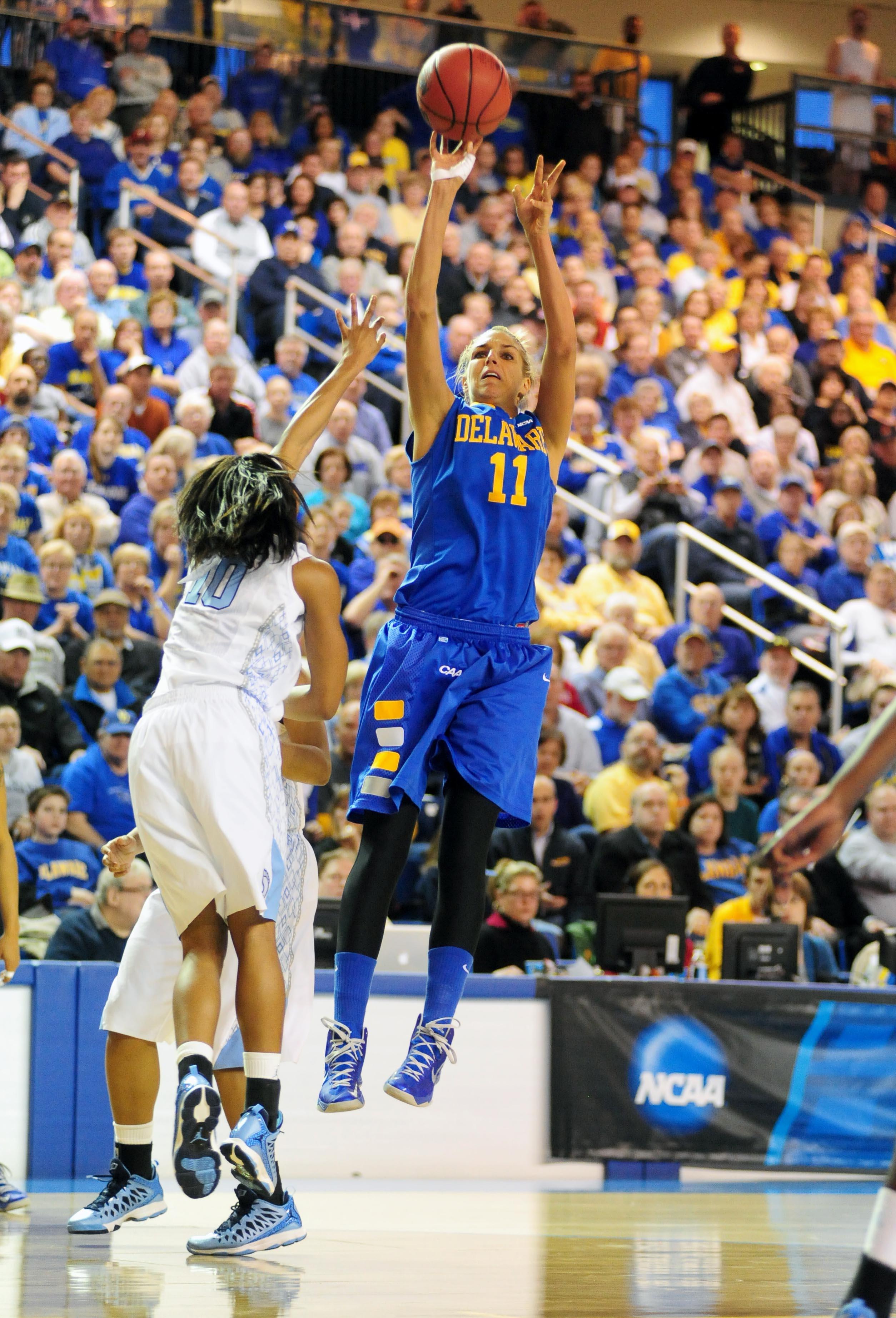 NCAA Womens Basketball: NCAA Tournament-Delaware vs North Carolina
