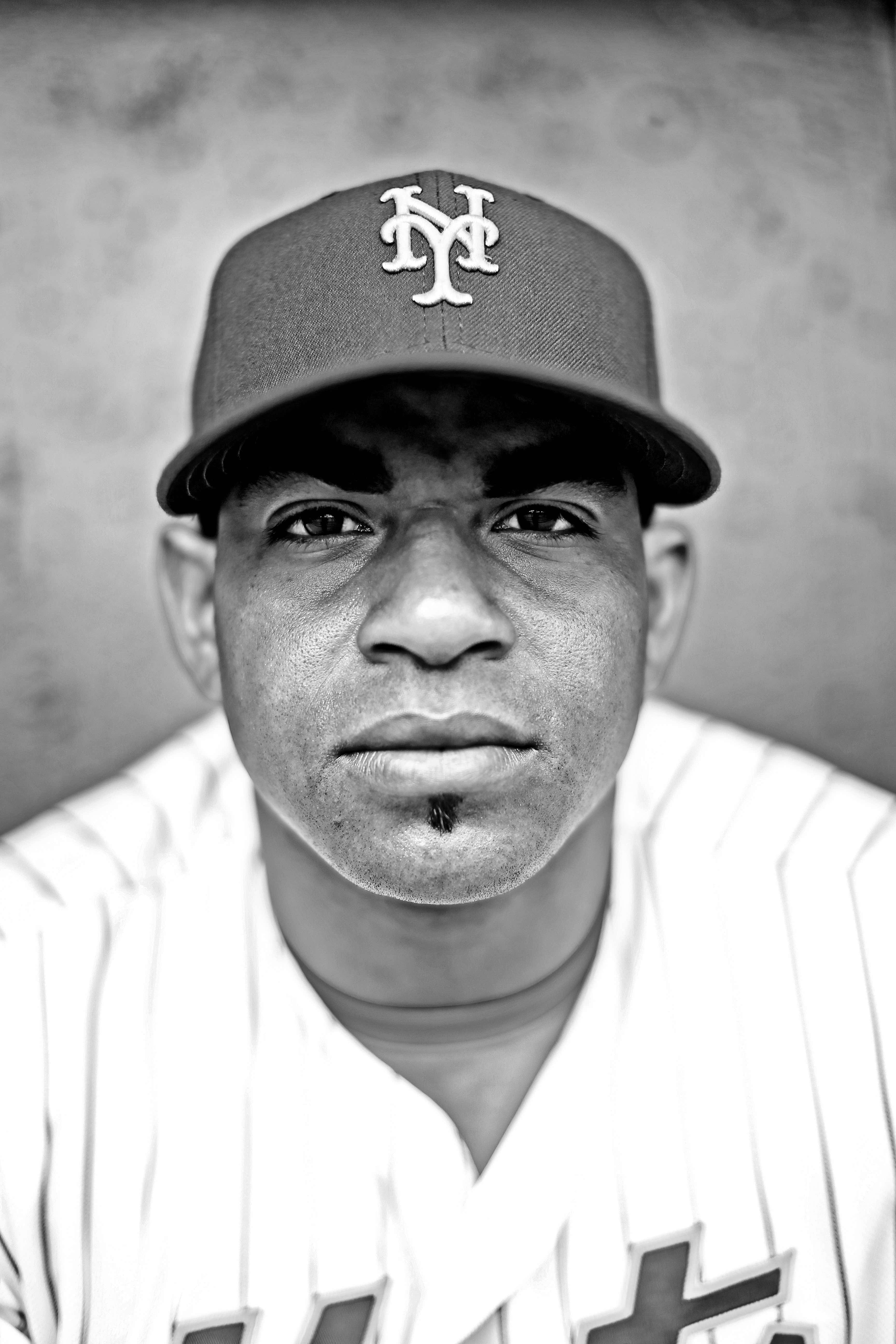 NY Mets Yoenis Cespedes (Photo byTom DiPace)