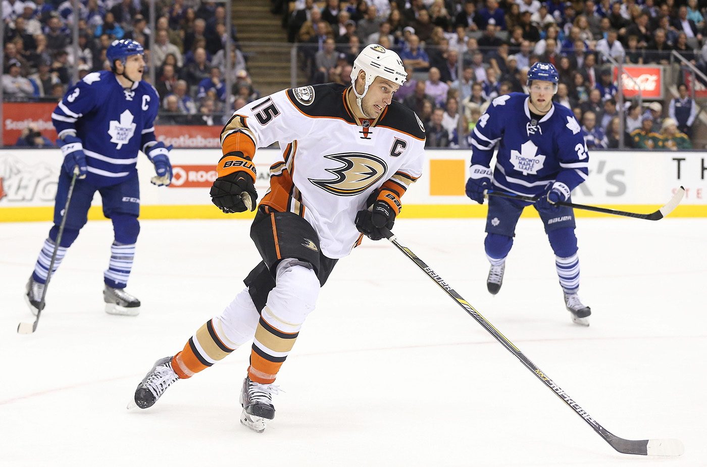 NHL: Anaheim Ducks at Toronto Maple Leafs