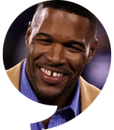 Michael Strahan, Pro Football Hall of Famer / New York Giants - The Players' Tribune