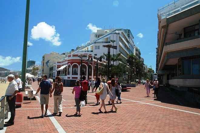 Las Canteras Beach Avenue-Las Palma