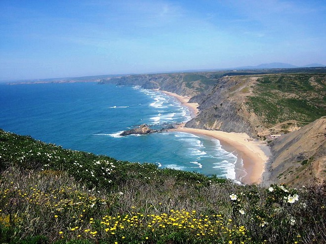 Beach in St.Vicente Portugal