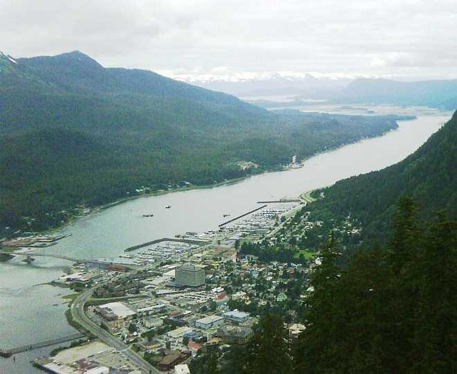 Gastineau Channel Juneau tramway
