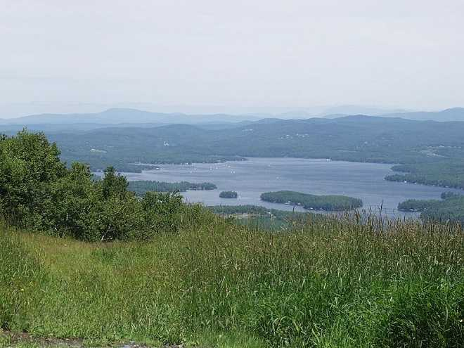 Lake Sunapee from Mount Sunapee