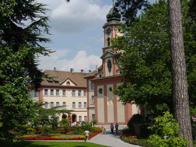 palace gardens at Mainau