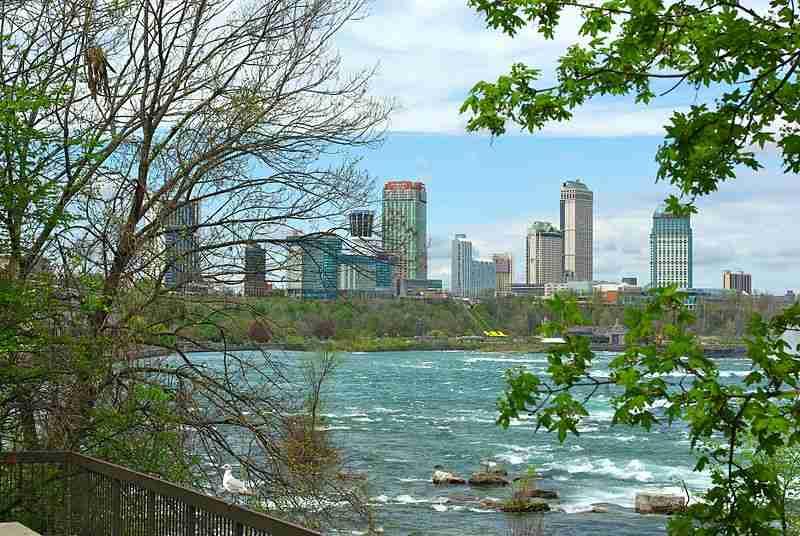 Niagara Falls, Ontario, skyline