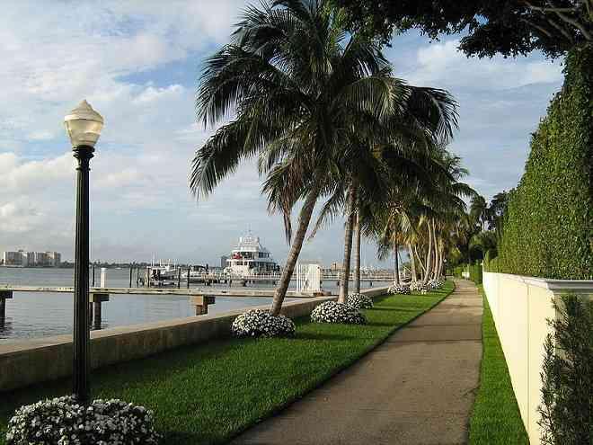 Palm Beach bikeway