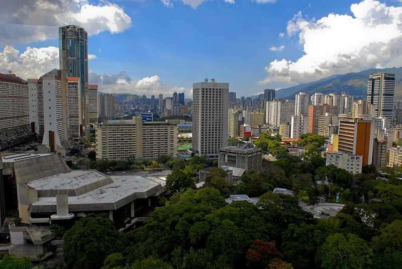 Caracas Venezuela downtown