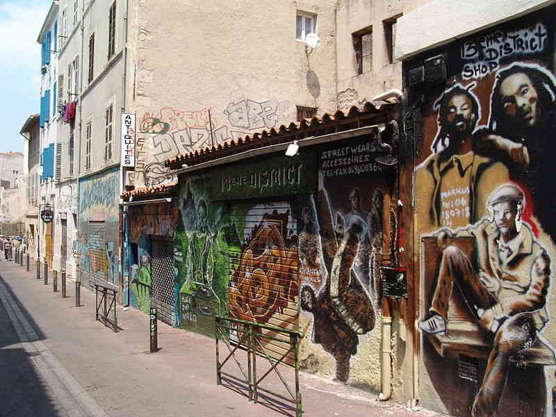 Street art Marseille France
