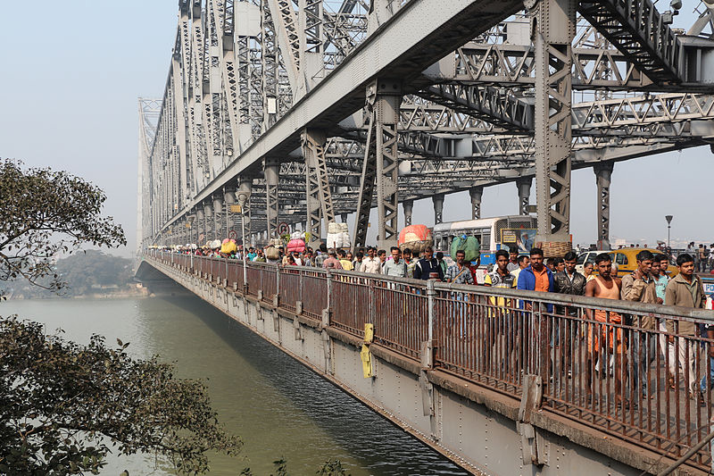 famous Indian city bridge