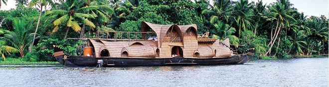 Kettuvallam Houseboat of Kerala