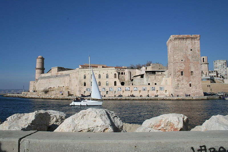 Fort Saint Jean de Marseille France