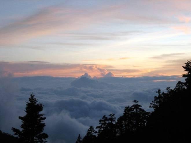 Sea of Clouds at the Paiyun Lodge Taiwan