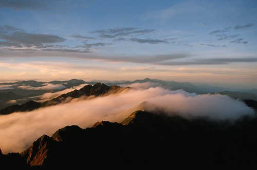 Mount Yu Shan sea of clouds