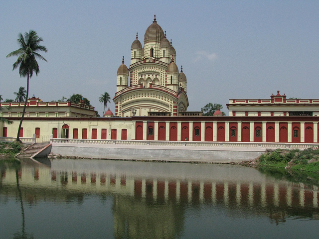 Dakshineswar Kali Temple in Kolkata India