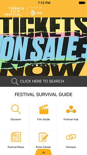 Tribeca Film Festival App