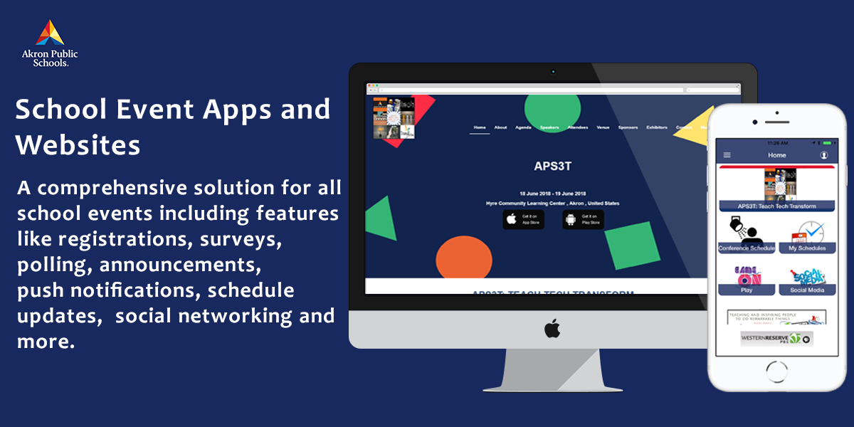 Mobile Events Apps for Schools
