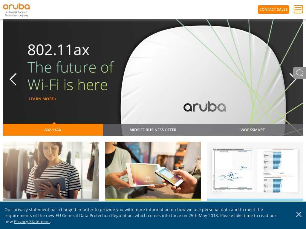 Aruba Networks - Alternatives and Competitors | Tracxn