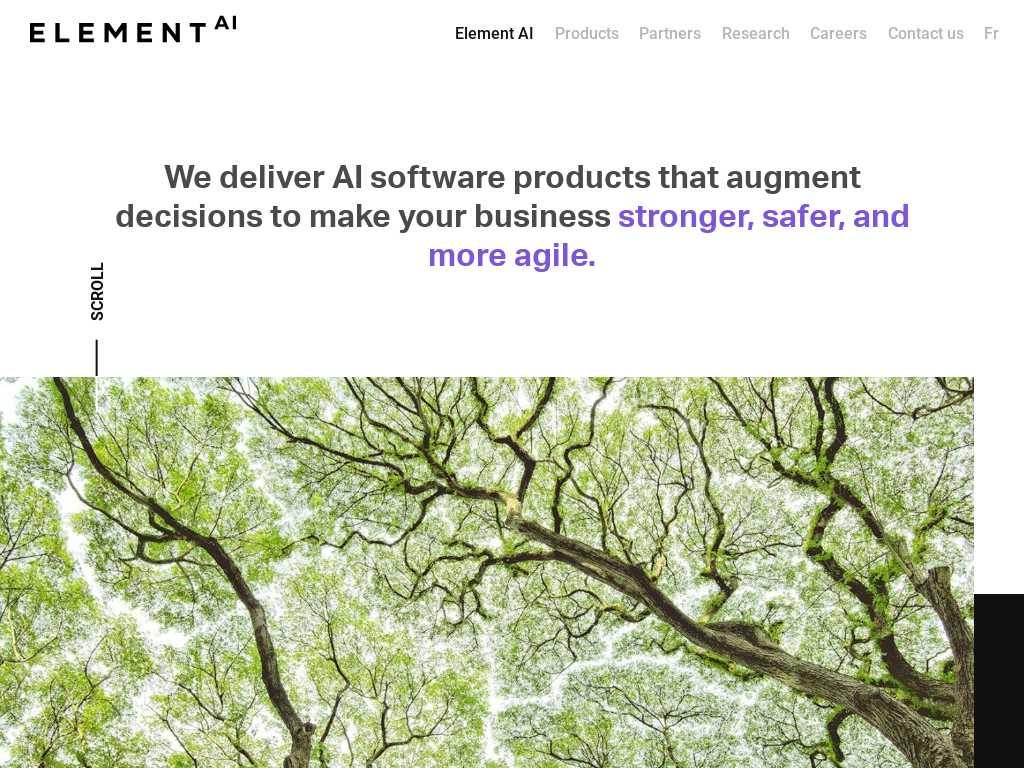 Element AI - Alternatives and Competitors | Tracxn