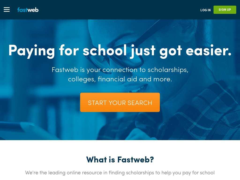 Scholarships For Women Fastweb >> Fastweb Tracxn Companies
