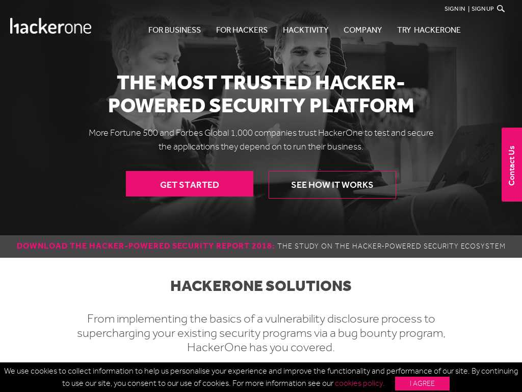 HackerOne - Alternatives and Competitors | Tracxn