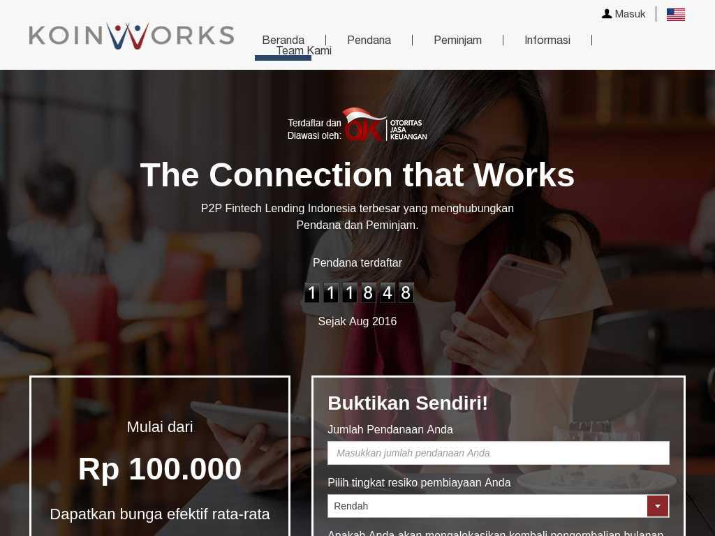 Koinworks   Tracxn
